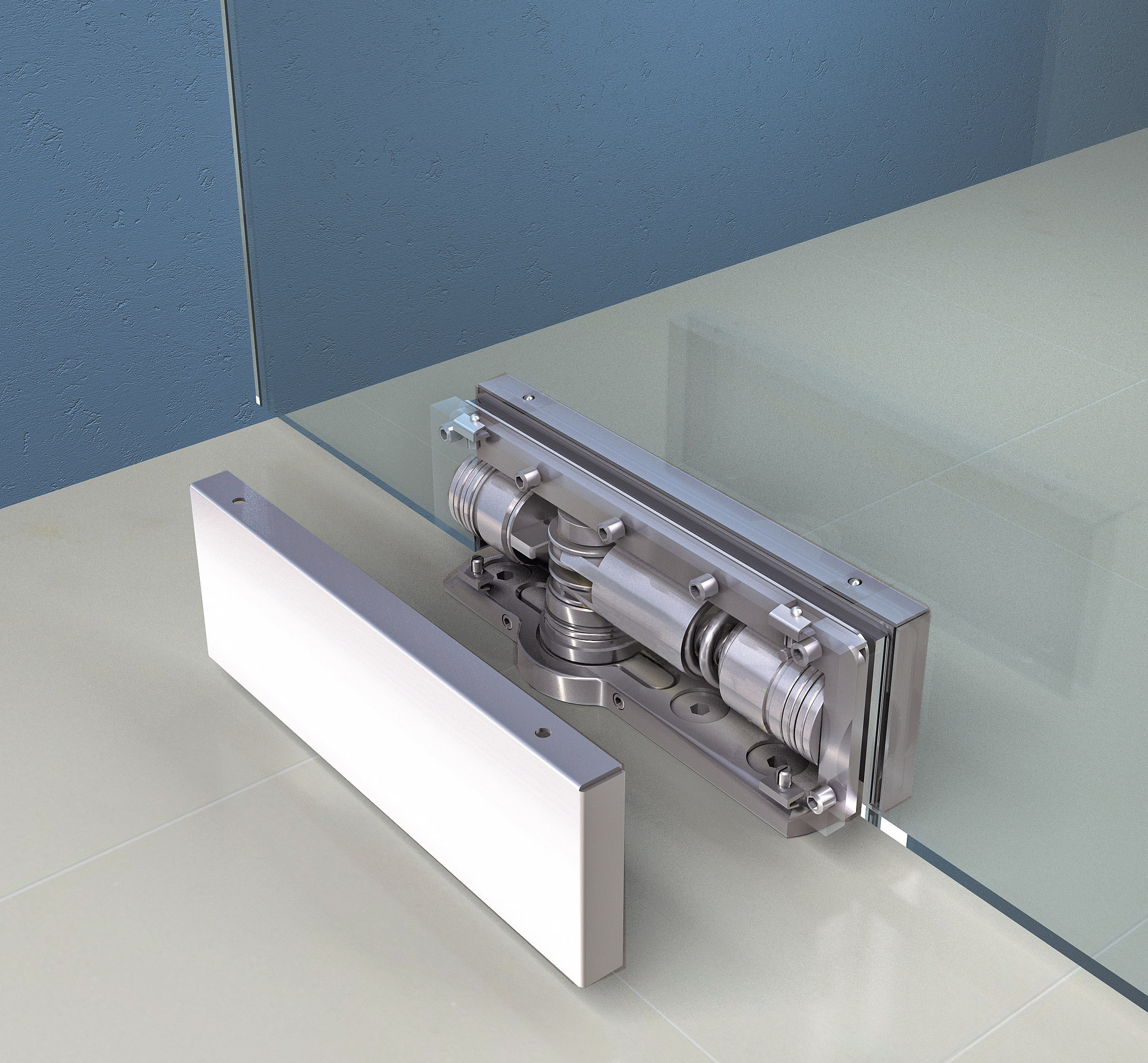 Unica Hinge The Touch Of Glass Biloba Series